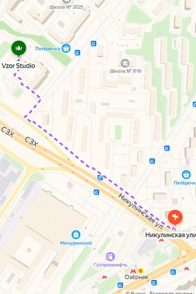 VZOR | г. Москва, ул. Большая Очаковская, д.44