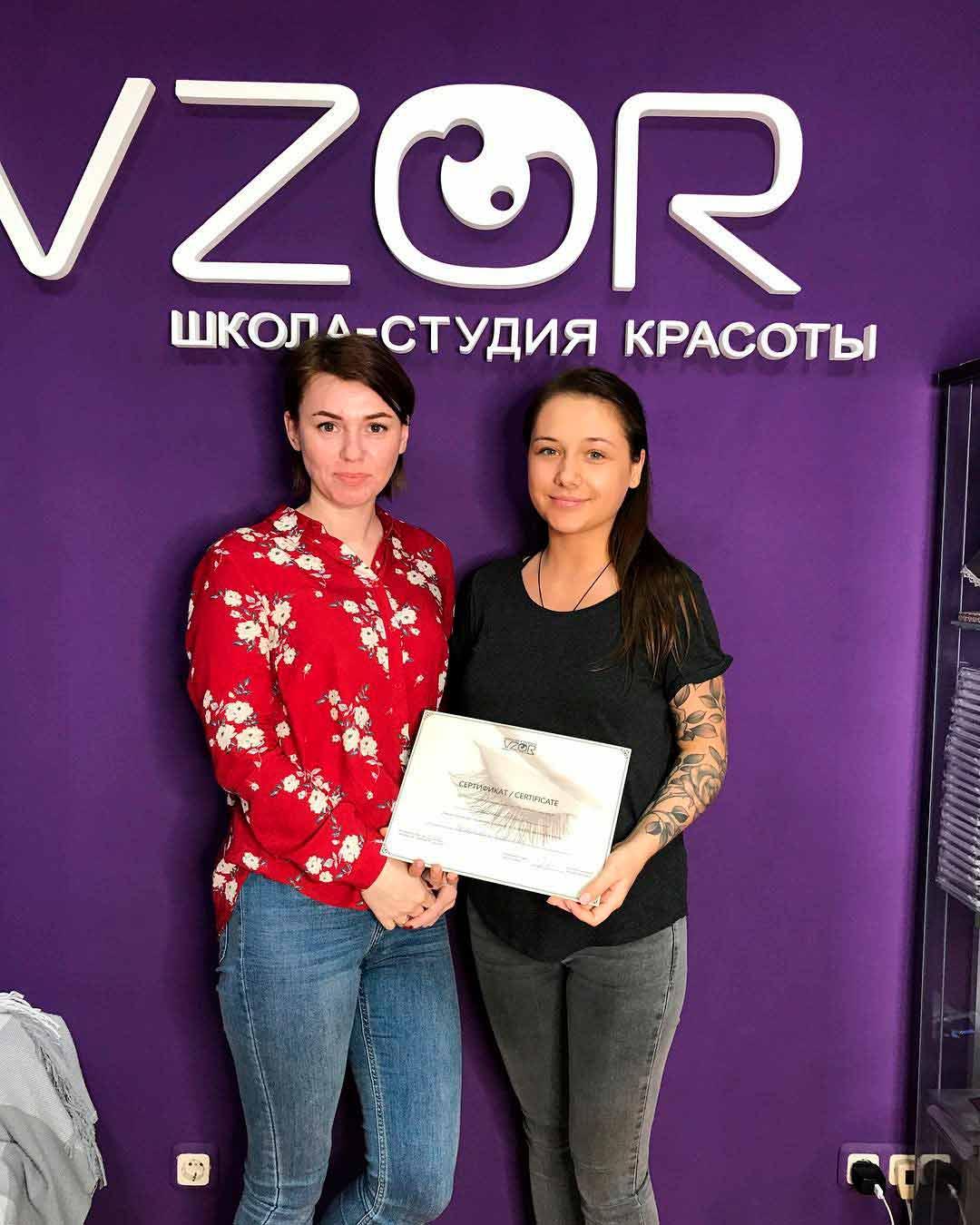 Авторские курсы по обучению классическому и объемному (2–3D и гиперобъемы 4–9D) наращиванию ресниц в Москве